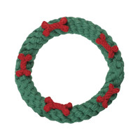 Wreath Rope Dog Toy