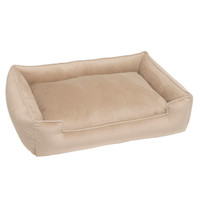 Fur Velour Lounge Dog Bed