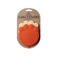 Paw Can Cover Set Orange & Cream