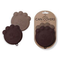 Paw Can Cover Set Black & Grey