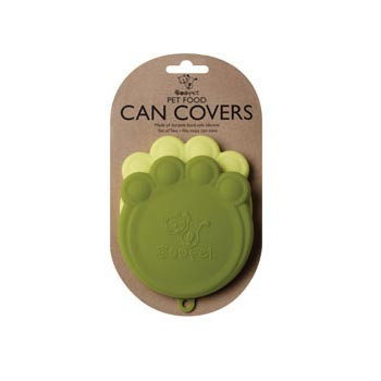Paw Can Cover Set Light Green & Green