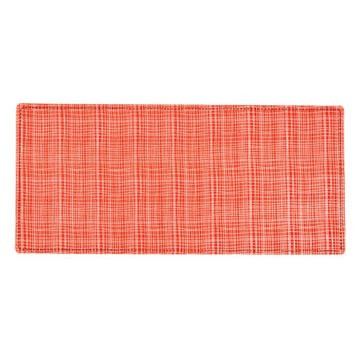Red Grid Pet Placemat