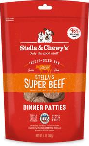 Stella & Chewy's Super Beef Freeze Dried Raw Diet Dog Dinner