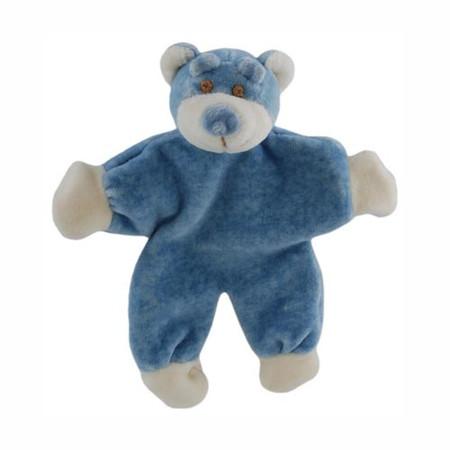 Beginnings Stuffless Bear Organic Toy