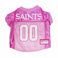 New Orlean Saints Pink Dog Jersey