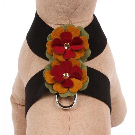 Susan Lanci Autumn Flowers Tinkie Dog Harness