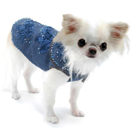Oscar Newman Blue for You Denim Coat