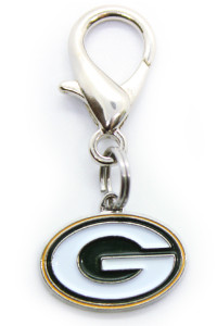 Green Bay Packers Logo Collar Charm