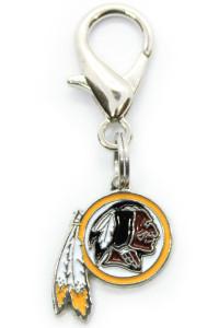 Washington Redskins Logo Collar Charm