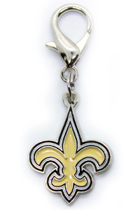 New Orleans Saints Logo Collar Charm