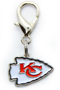 Kansas City Chiefs Logo Collar Charm