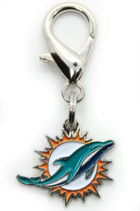 Miami Dolphins Logo Collar Charm