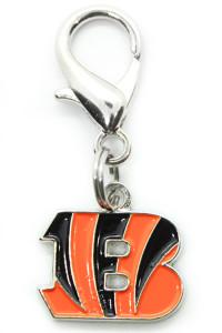 Cincinnati Bengals Logo Collar Charm