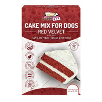 Puppy Cake Red Velvet Wheat-Free Cake Mix & Frosting
