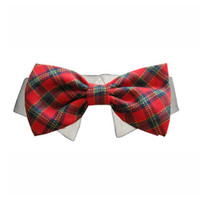 Holiday Shirt Collar Bow Tie