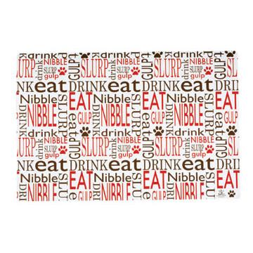 Nibble Eat Slurp Pet Placemat