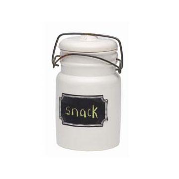 Chalk-a-Doodle Ceramic Jar