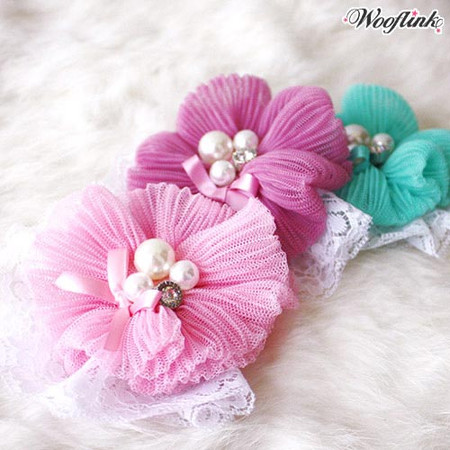 Wooflink Blossom Hair Bow