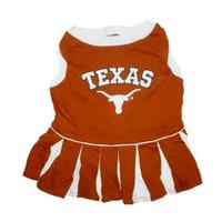 Texas Longhorns Cheerleader Dog Dress