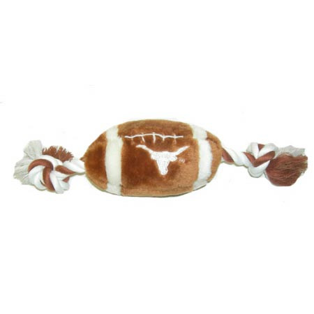 Texas Longhorns Football Dog Toy