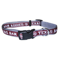 Texas A&M Aggies Dog Collar