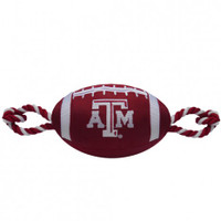 Texas A&M Aggies Nylon Football Dog Toy