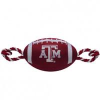 Texas A&M Aggies Nylon Football Dog Toy