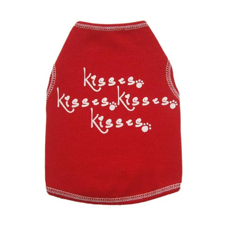 Kisses, Kisses, Kisses Dog Tank
