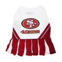 San Francisco 49ers Cheerleader Dog Dress