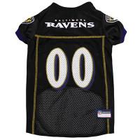 Baltimore Ravens Dog Jersey - Alternate Style