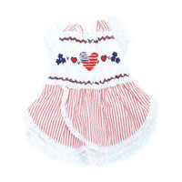 Oscar Newman Liberty Hand-Smocked Dress
