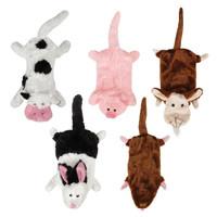 Farm Friends Unstuffies Dog Toys