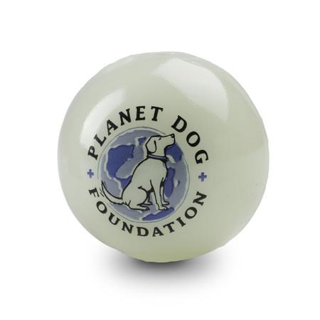 Planet Dog Orbee-Tuff Glow For Good Ball