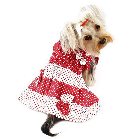 Red & White Polka Dot Sundress