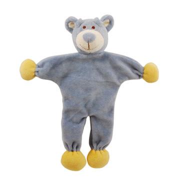 Stuffless Wally Bear Organic Dog Toy