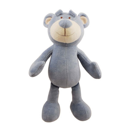 Large Wally Bear Organic Dog Toy