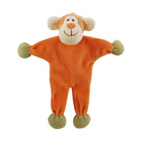 Stuffless Oscar Monkey Organic Dog Toy