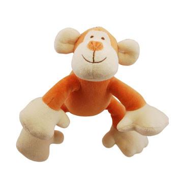 Petite Oscar Monkey Organic Dog Toy
