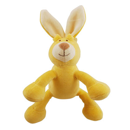 Petite Lucy Rabbit Organic Dog Toy