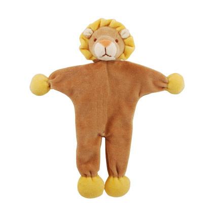 Stuffless Leo Lion Organic Dog Toy