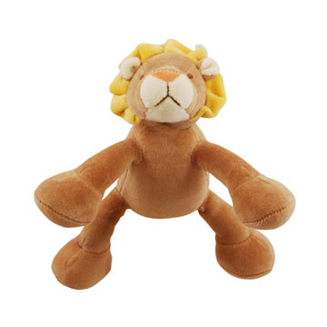 Petite Leo Lion Organic Dog Toy