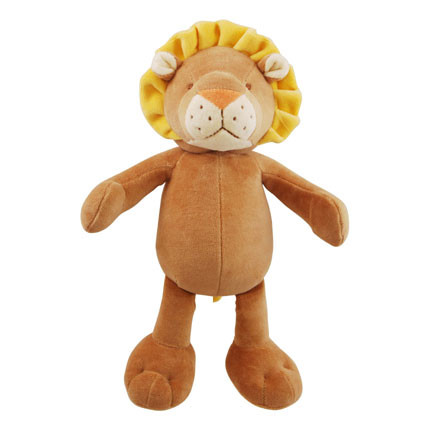 Large Leo Lion Organic Dog Toy