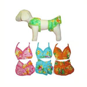 Hawaiian Dog Bikini