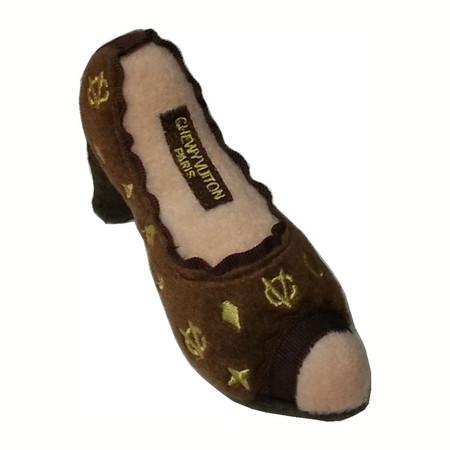 Chewy Vuiton Shoe Toy