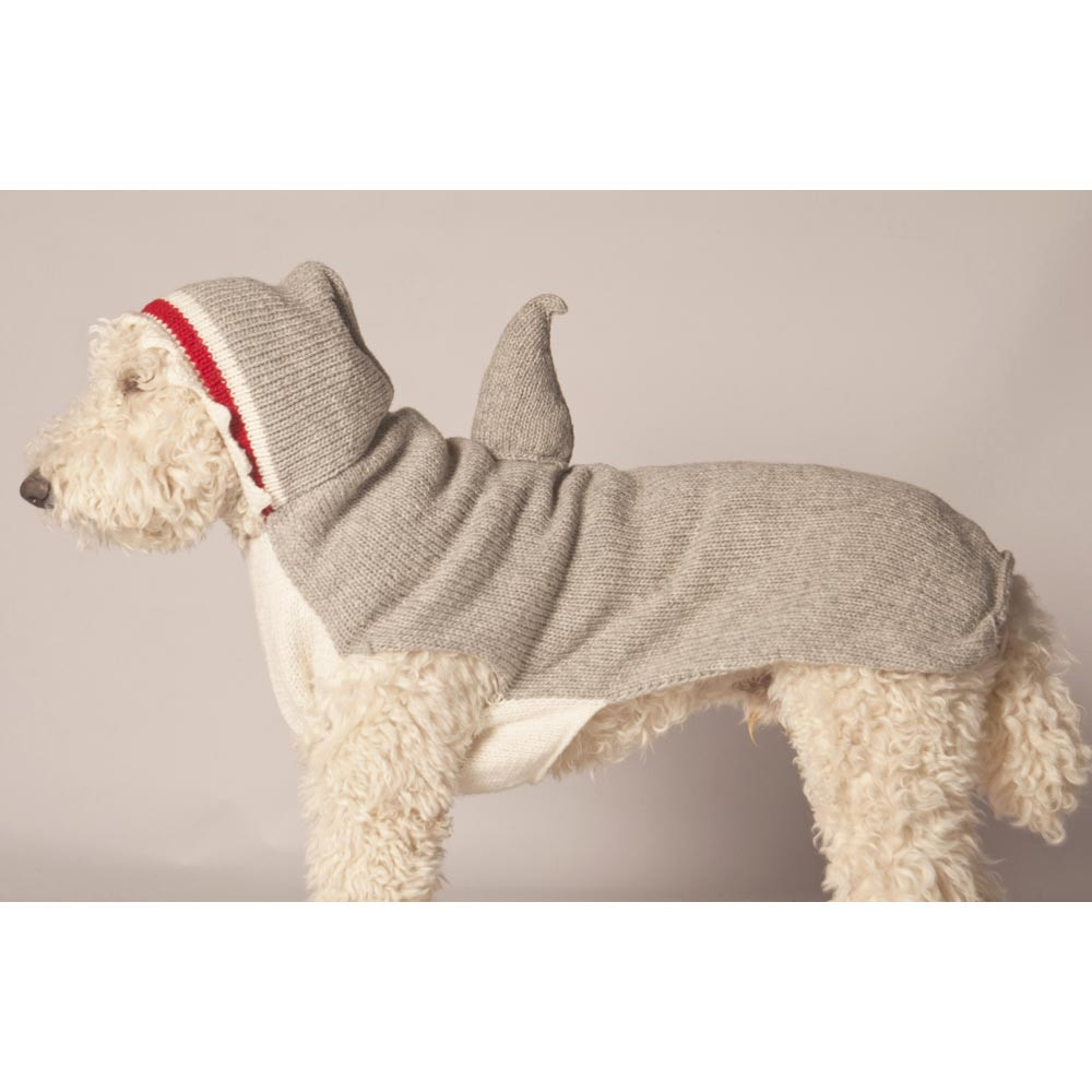 Shark Hoodie Dog Sweater