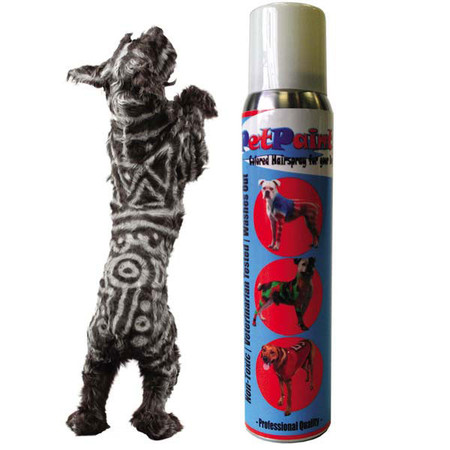 PetPaint Color Sprays Dog Costume