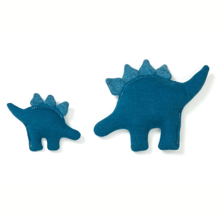 Dino Hemp Dog Toy