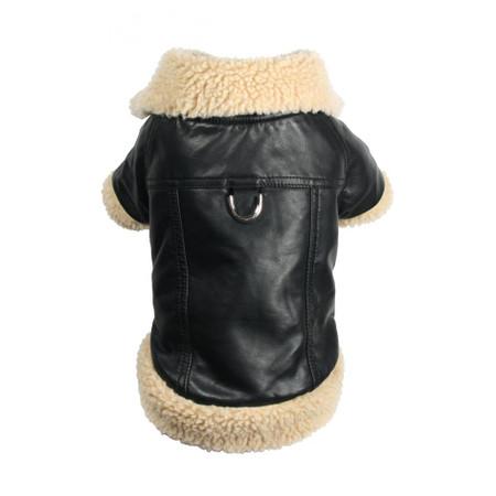 Classic Shearling Leatherette Coat