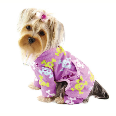 Skull & Crossbones Turtleneck Dog Pajamas