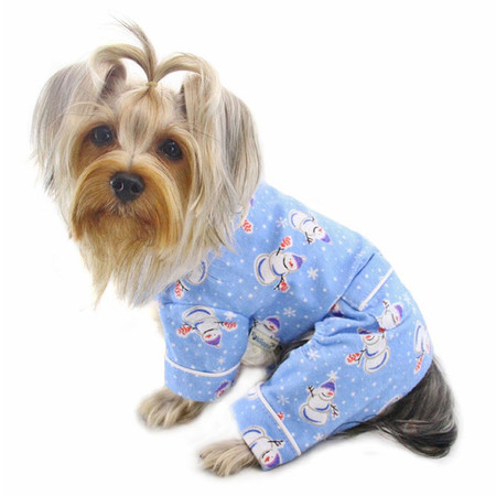 Snowman Flannel Pajamas